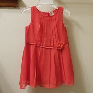 Toddler girl formal dress, 2T, worn once